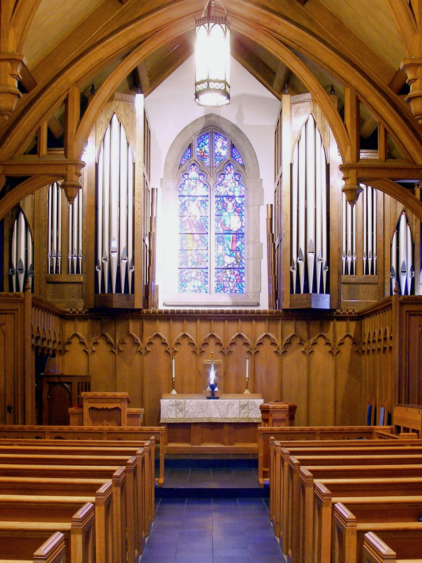 pipe organ chapel gothic saint mark atlanta ga