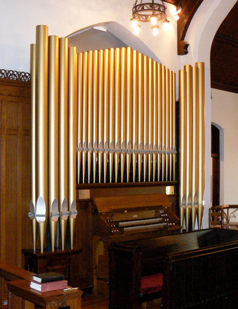 pipe organ restoration st peters talladega alabama