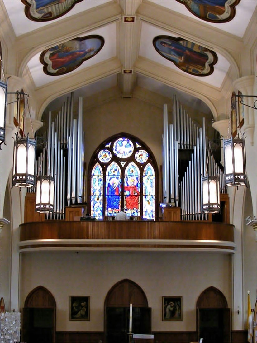 pipe organ gallery catholic shrine atlanta georgia